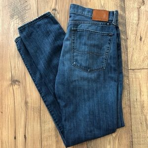 Lucky Brand Authentic Skinny Jeans Button Fly